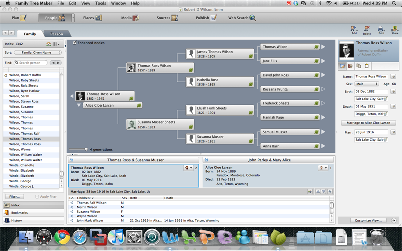 The best in Genealogy for Mac