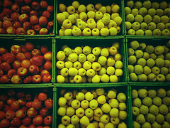 More Green Apples than Red Apples