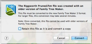 Figure 1. FTM3 Update Convert File