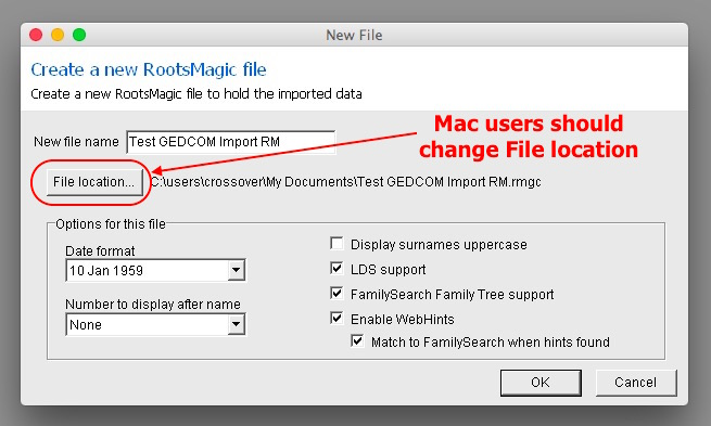Fig 4 Give file name & location