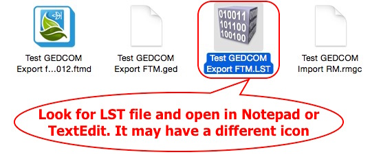 Fig 6 Look for LST file
