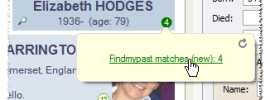 Findmypast Matches