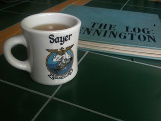 U.S.S. Antietam Coffee Mug with Sayer Surname