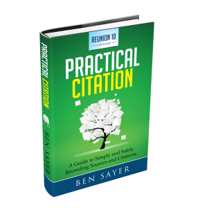 practical citation 3D book