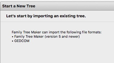 family tree maker can import version 5